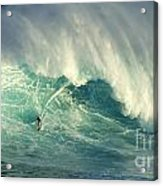 Surfing Jaws Hang Loose Brother Acrylic Print