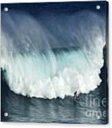 Surfing Jaws Running With Wolves Acrylic Print