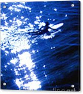Surfing The Stars Acrylic Print