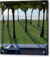 Surfside Acrylic Print by Cynthia Decker