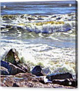 Surfside Jetty Acrylic Print