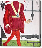Surgeon, 14th Century Acrylic Print