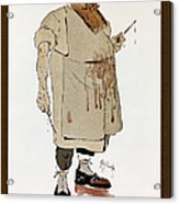 Surgeon: Caricature, 1906 Acrylic Print