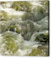 Surging Water Acrylic Print