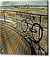 Surreal Boardwalk  Acrylic Print