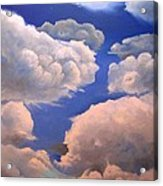 Surreal Cloud One Acrylic Print by Paula Marsh