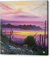 Surreal Desert II Acrylic Print