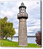 Surreal Lighthouse Acrylic Print