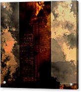 Surreal Sky Scraper Acrylic Print