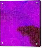 Surrepititous Purple Blue Acrylic Print