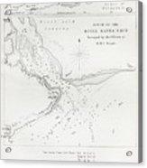 Survey Of The Santa Cruz River Acrylic Print