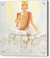 Surya The Sun Acrylic Print