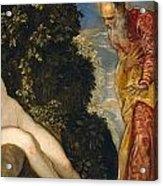 Susannah And The Elders Acrylic Print