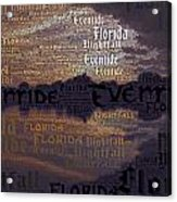 Suset Vs Nightstorm  Acrylic Print