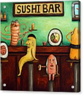 Sushi Bar Improved Image Acrylic Print
