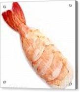 Sushi Cooked Shrimp Acrylic Print