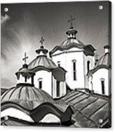 Sv Joakim Osogovski Acrylic Print