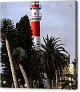 Swakopmund Lighthouse - Namibia Acrylic Print