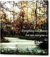 Swamp Beauty Acrylic Print