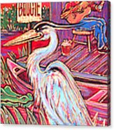 Swamp Boogie Acrylic Print by Robert Ponzio