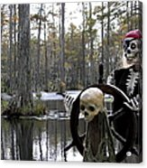 Swamp Pirate Acrylic Print