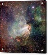 Swan Nebula (m17) Acrylic Print