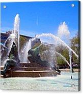 Swann Fountain Acrylic Print