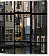 Swans Love Amsterdam Acrylic Print