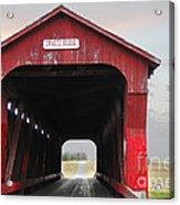 Swartz Covered Bridge Ohio Acrylic Print