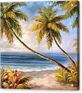 Swaying Palms Acrylic Print