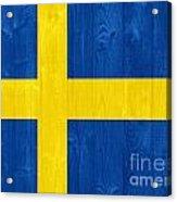 Sweden Flag Acrylic Print