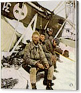Swedish Aviator Lundborg, Who Acrylic Print