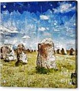 Swedish Standing Stones Acrylic Print