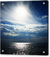 Sweeping Clouds Acrylic Print