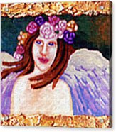 Sweet Angel Acrylic Print by Genevieve Esson
