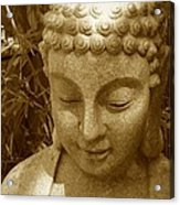 Sweet Buddha Acrylic Print