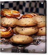 Sweet - Cookies - Cookies And Danish Acrylic Print
