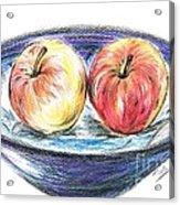Sweet Crunchy Apples Acrylic Print