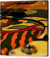 Sweet Fender Precision Bass Acrylic Print