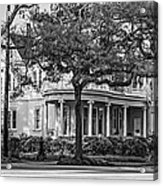 Sweet Home New Orleans Bw Acrylic Print