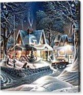 Sweet Homes Acrylic Print
