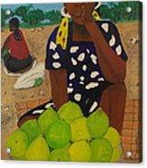 Sweet Oranges Acrylic Print