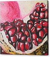 Sweet Pomegranate Acrylic Print