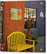 Sweet Poppy Shops Tubac Arizona Dsc08406 Acrylic Print