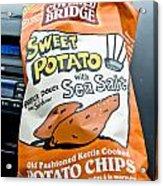 Sweet Potato Chips Acrylic Print