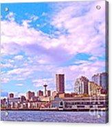Sweet Seattle Acrylic Print