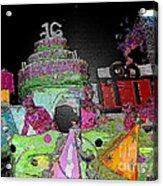Sweet Sixteen Posterized Acrylic Print