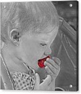 Sweet Strawberry Acrylic Print