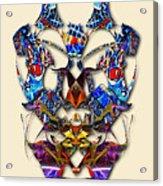 Sweet Symmetry - Flu Bugs Acrylic Print