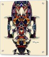 Sweet Symmetry - Projections Acrylic Print